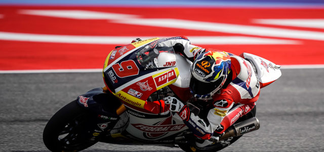 Second row start for Jorge Navarro in Misano