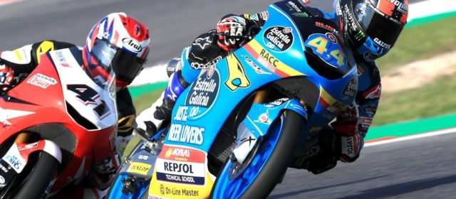 Crashes end San Marino GP prematurely for Alonso Lopez and Aron Canet