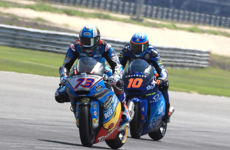 Alex Marquez and Joan Mir leave Thai GP empty-handed
