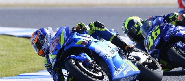 Alex Rins 5th in Phillip Island race