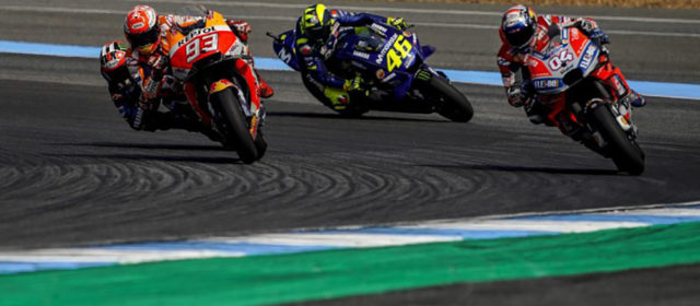 Masterful Marc Marquez takes first Thai win; Dani Pedrosa crashes out after a strong performance
