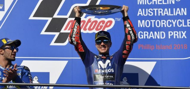 Maverick Vinales banks brilliant victory in Australia