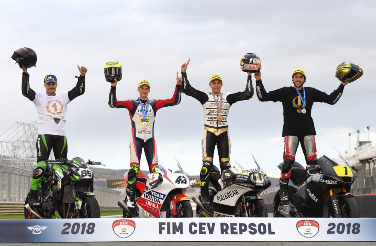 CEV Repsol 2018 comes to a close in Valencia – raceday roundup