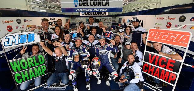Jorge Martin takes second at Valencia