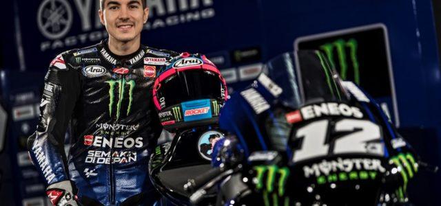 Photos: Maverick Viñales at the Yamaha 2019 MotoGP team launch