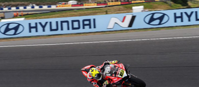 #AUSWorldSBK– Day 1, Alvaro Bautista bags top spot as first day on 'The Island' concludes
