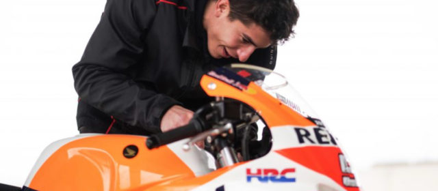 Marc Marquez back in the saddle following shoulder operation