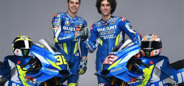 Photos: Joan Mir and Alex Rins, Suzuki 2019 launch promotional pics