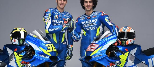 Joan Mir and Alex Rins look forward to 2019 challenge with Suzuki