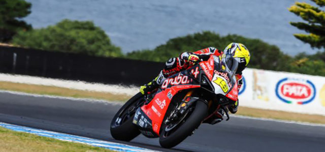 WorldSBK Phillip Island Test: Bautista dominates day one in Australia