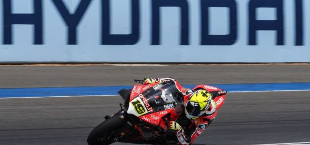 #THAWorldSBK– Day 1:  Alvaro Bautista leads the charge at the end of Day 1 in Thailand