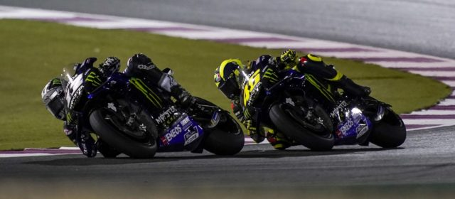 Maverick Viñales pushes to 7th in Qatar