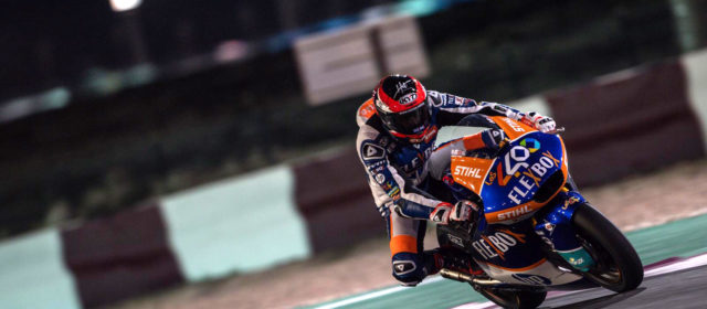 Superb fifth place finish in Qatar season opener for Augusto Fernandez