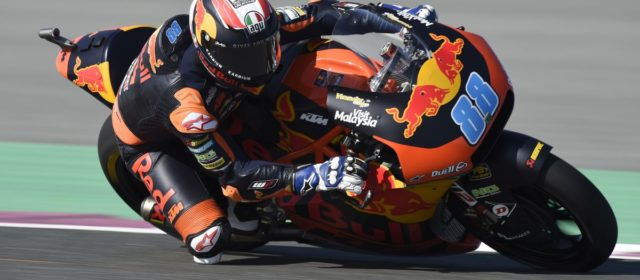 First points of the season for Jorge Martin in Qatar