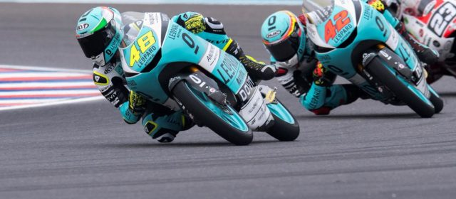 12th position on the grid for Marcos Ramirez in Argentina