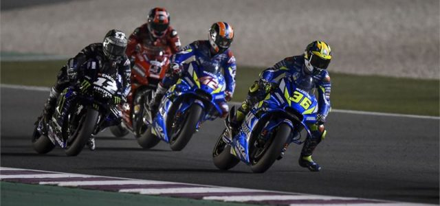 Alex Rins 4th and Joan Mir 8th in exciting season opener in Qatar