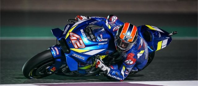 Alex Rins and Joan Mir to start Qatar GP from fourth row