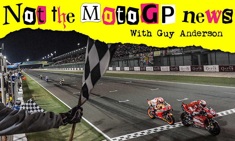 NOT the MotoGP News: Qatar – Circle in the Sand…*