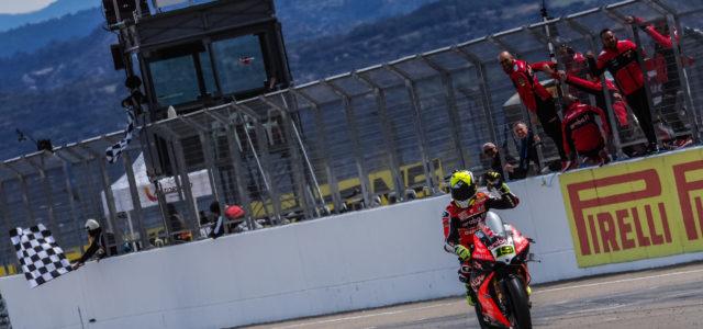#AragonWorldSBK – Day 2 roundup: World Superbike, World Supersport, WorldSSP300