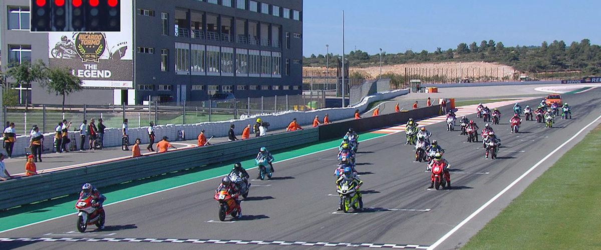 VIDEO: CEV Repsol, Valencia – Moto3 race 1 highlights