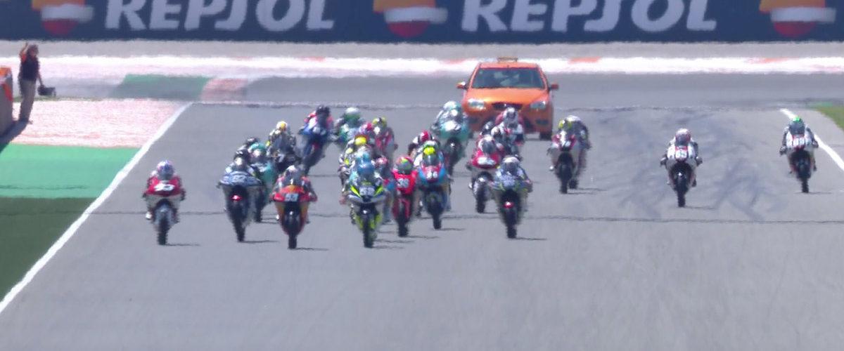 VIDEO: CEV Repsol, Valencia – Moto3 race 2 highlights