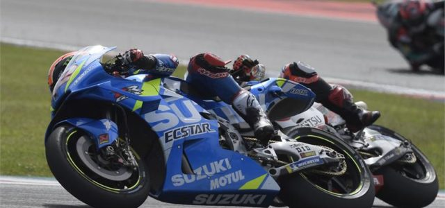 Alex Rins fifth and Joan Mir DNF in Argentina