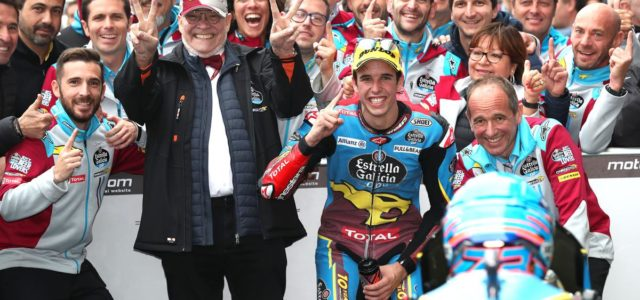 Alex Márquez Takes Majestic Win in France, Xavi Vierge Fifth