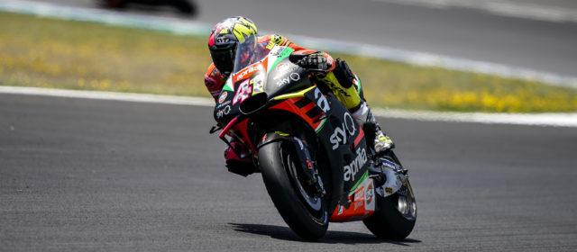 Aleix Espargaró finishes 11th in Jerez
