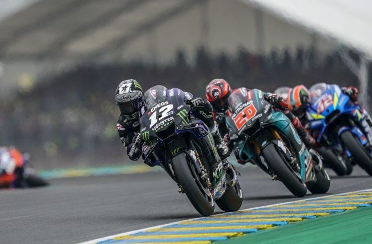 Maverick Viñales not classified in Le Mans GP