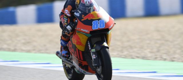Jorge Martin 22nd in Jerez qualifying