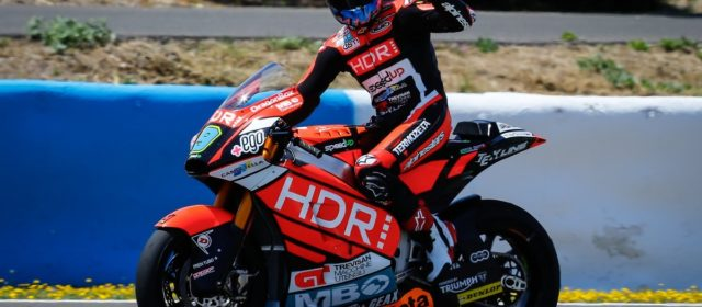 Jorge Navarro takes second place in Jerez
