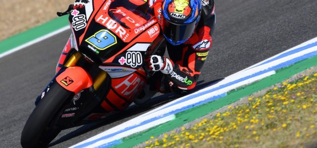 Incredible Jorge Navarro's pole position in Jerez