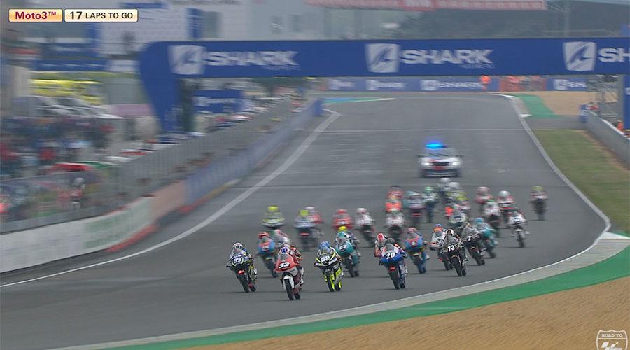 VIDEO: FIM CEV Repsol, Le Mans – Moto3 highlights