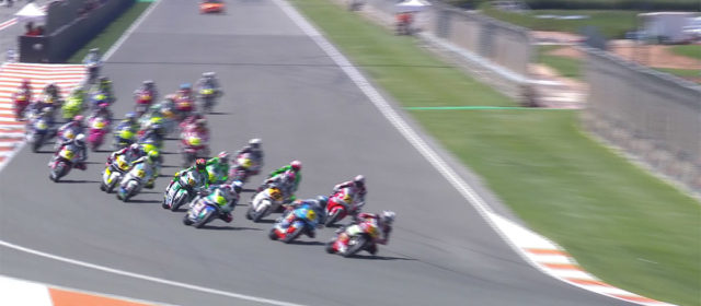 VIDEO: CEV Repsol, Valencia – Moto2 race highlights