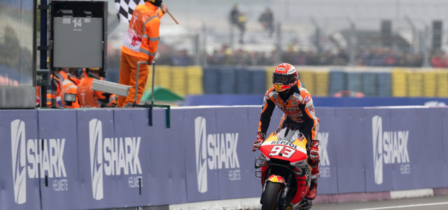 Dominant Marc Marquez takes Honda's 300th premier class win in France, Jorge Lorenzo 11th
