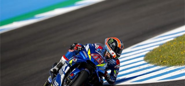 Alex Rins 9th and Joan Mir 12th on the gird in Jerez