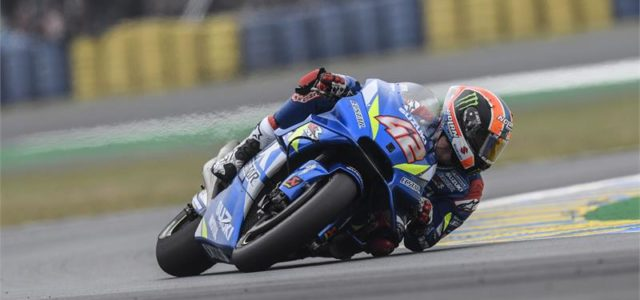 Alex Rins salvages top ten finish in difficult French GP, Joan Mir places 16th