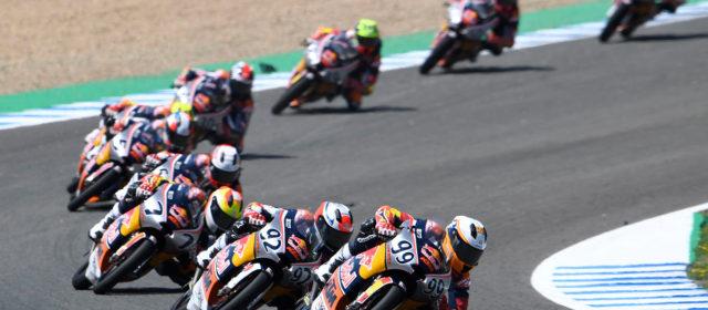Tatay flips the result on Kunii in Red Bull Rookies Jerez race 2