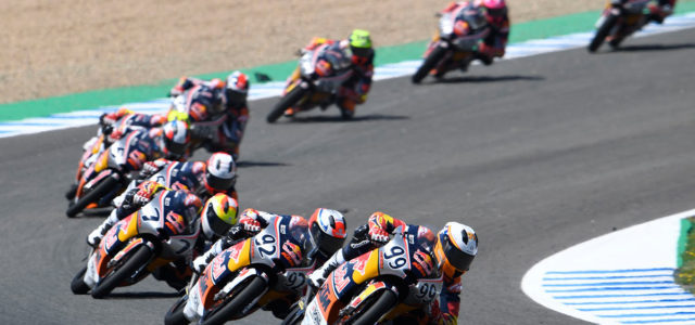 Tatay flips the result on Kunii in Red Bull Rookies Jerez race 2