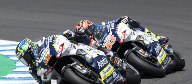 Tito Rabat manages to save a point in the GP of Spain