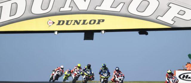 The FIM Moto3 Junior World Championship at Le Mans