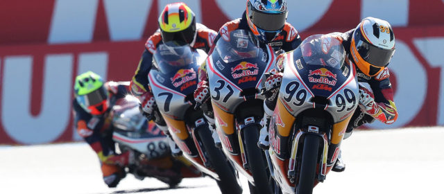 Red Bull Rookies: Tatay over Acosta by a tyre in Assen 1