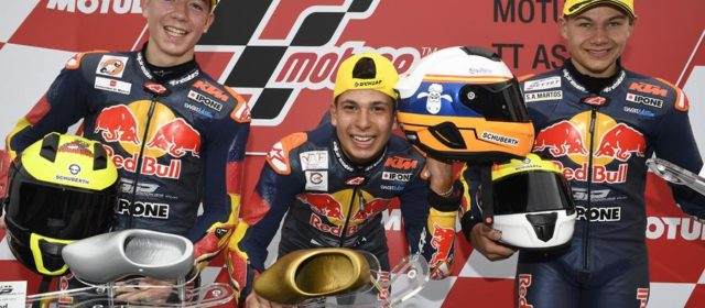 Red Bull Rookies: Carlos caps a perfect weekend in Assen