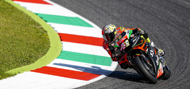 Aleix Espargaro just misses out on top 10 in Mugello