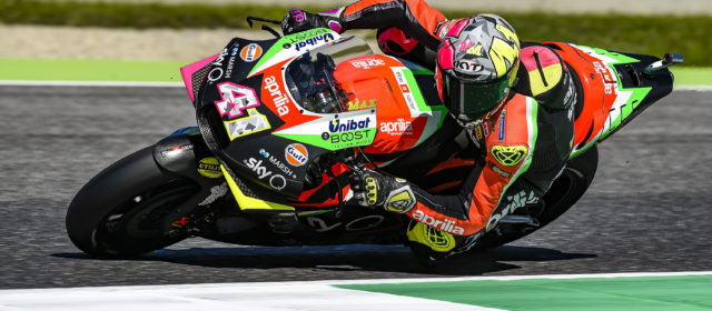 Fifth row for Aleix Espargaro in Mugello