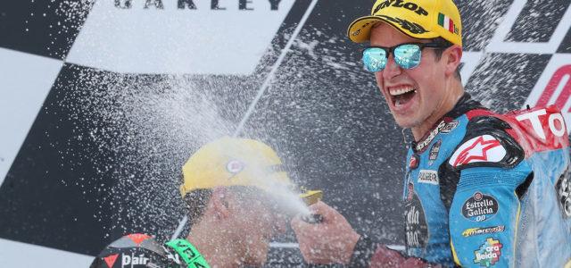 Alex Márquez masters Mugello with fantastic win, Xavi Vierge finishes 12th