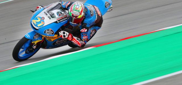 Seventh place for Alonso Lopez on Catalan GP grid, Sergio Garcia 13th