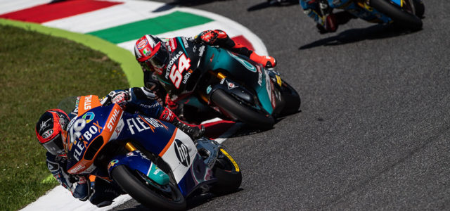 Augusto Fernandez takes excellent fifth place at Mugello