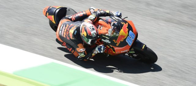 Jorge Martin wraps up a tough Italian GP