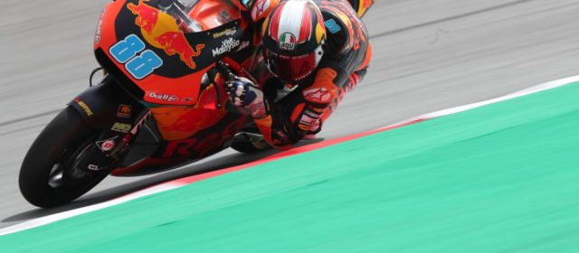 Jorge Martin makes progress on second day of Catalan GP